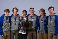 MIKE JULIANA - The Lakeridge boys ski team won the state title in the giant slalom last week at Mt. Ashland and finished fourth overall in the combined team event.