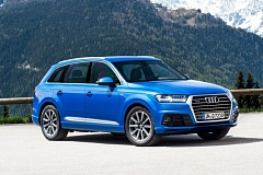 AUDI OF AMERICA - The 2017 Audi Q7 has been completely redesigned with crisper exterior lines.