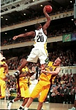 TRIBUNE FILE PHOTO - Fred Jones dunks for Oregon during a career in which the Ducks made it to the Elite Eight.