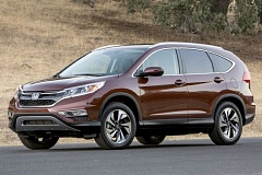 AMERICAN HONDA MOTOR COMPANY - The 2016 Honda CR-V is attractive and surprisingly polished for an affordable compact crossover.