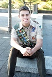 SUBMITTED PHOTO - Lakeridge High School senior Sam Reed earned his Eagle Scout rank.