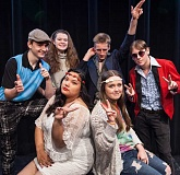 SUBMITTED PHOTO - Students will be in costumed splendor for the Lake Oswego High School variety show, 'The Evolution of Music.'