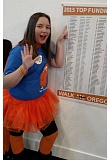 SUBMITTED PHOTO - Lakeridge Junior High sixth-grader Claire Sarnowski is seeking to raise thousands of dollars to fight multiple sclerosis.