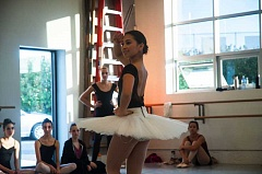 PAMPLIN MEDIA GROUP FILE PHOTO - Haruka Weiser rehearses with the Portland Ballet in 2014.