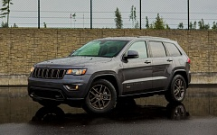 NWAPA/VINNIE NGUYEN - The 2016 Jeep Grand Cherokee 75th Anniversary Edition was named Best Overall and Best Family Outodoor Activity Vehicle by the Northwest Automotive Press Association at its Mudfest 2016 comparison.