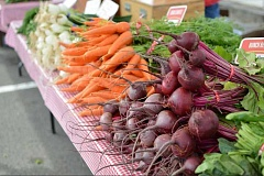 TIMES FILE PHOTO - Bridgeport Village is getting into the farmers market business with a new market that launches at the Tualatin shopping center on May 18.
