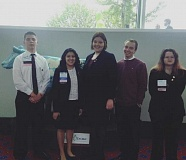 CONTRIBUTED PHOTO: ESTACADA FBLA - Estacada High School's FBLA chapter won several awards in the organization's state conference from April 7-9 in Portland.