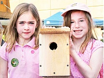 SUBMITTED - Children can build a bat house, bird house or bee board or play migratory putt-putt golf at this year's Tualatin River Bird Festival, slated for 10 a.m. to 5 p.m. May 21.