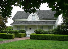 SUBMITTED - The Newell House in Champoeg, built by Robert Newell in the 1850s, has a place in Oregon history, as historian Judy Van Atta will explain in an upcoming talk on Newell.