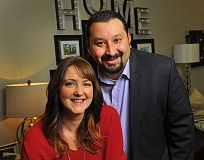 SPOKESMAN FILE PHOTO - Sherine Beltran and her husband Jaimy were named 2015 First Citzens at the Rotary Club of Wilsonville's Heart of Gold event in February.