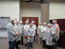 SUBMITTED PHOTO - You can travel the world with the Lake Oswego Adult Community Center, or interesting sites in Oregon. This photo was taken during a day trip to the Salem factory of Yamasa Corporation, makers of soy sauce and seasonings.