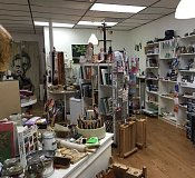 PHOTO COURTESY OF GEORGINA YOUNG-ELLIS - Hillsdale Art Supply Company, located at the corner of Southwest Capitol Highway and Southwest Sunset Boulevard, offers new and gently used art supplies.