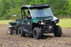 BRUCE W. SMITH - Bad Boy Off Road's first entry into the ATV market is the Stampede 900, which will be offered in three 4x4 models starting at $13,799. The brand is part of Tektron and they are built in Augusta, Georgia.
