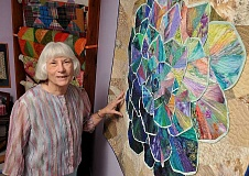 STAFF PHOTO: VERN UYETAKE  - Rita Young Kilstrom of West Linn will be the featured quilter at this weekends Festival of Quilts.
