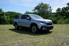 PORTLAND TRIBUNE: JEFF ZURSCHMEIDE - The 2017 Honda Ridgeline is the latest entry in the suddenly hot midsize truck market, but the first to be built like a crossover SUV.