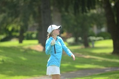 SPOKESMAN FILE PHOTO: COREY BUCHANAN - Wilsonville girls golfer Jessica Berry finished in the top 10 at the Regional Tourament.
