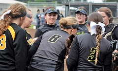 SPOTLIGHT PHOTO: JAKE MCNEAL - Twenty-first-ranked St. Helens softball heads to No. 9 The Dalles/Dufur for Friday's 5 p.m. Class 5A state play-in game at The Dalles High School.
