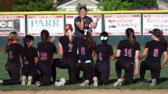 DAN BROOD - Tualatin coach Jenna Wilson, and her Timberwolves, will host McMinnville in a state playoff first-round game on Monday. Tualatin could possibly host rival Tigard in a second-round game on Tuesday.