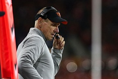 TRIBUNE FILE PHOTO: DAVID BLAIR - Oregon State football coach Gary Andersen gives an 'off-season' rundown of the Beavers, position by position, player by player, coach by coach.