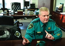 TRIBUNE FILE PHOTO - Sheriff Dan Staton now faces an investigation that has observers saying his departure is inevitable.