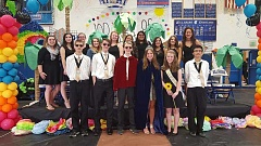 COURTESY PHOTO - Hillsboro High School's 100th senior May Fete Court.
