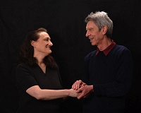 CONTRIBUTED PHOTO - Steve Holgate and Kate Lacey are cast as the sparring English monarchs Henry and Eleanor in the Sandy Actors Theatres production of The Lion in Winter, which runs May 27 to June 19.