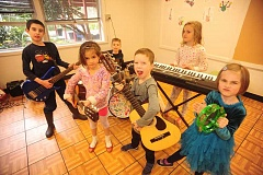 SUBMITTED PHOTO  - Kids ages 5-7 are invited to attend Beginning to Rock camp, offered through Lake Oswego Parks & Recreation.