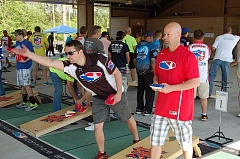 NEWS-TIMES FILE PHOTO - The 2015 version of the Oregon State Championships of Cornhole saw vigorous action in Forest Grove.