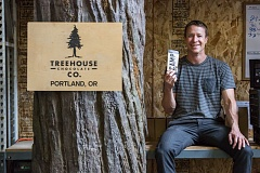 PAMPLIN MEDIA GROUP: JONATHAN HOUSE - Aaron Koch of Treehouse Chocolate is going on a motorcycle tour of Oregon to spread the word about his drinking chocolate.