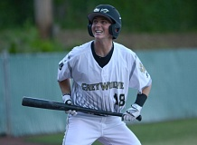 THE OUTLOOK: DAVID BALL - Greshams Marc Mumper supplied a two-run double as part of the teams six-run burst in the third inning.