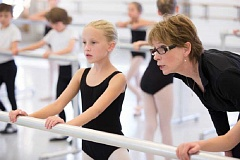 SUBMITTED PHOTOS: BLAINE TRUITT COVERT - Patricia Brewer-Jones gives instruction to a dancer.