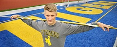 SETH GORDON - After throwing over 200 feet and winning a state championship as a senior, Newberg's Hap Frketich signed a national letter of intent May 25 to compete at the University of Wyoming.