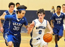 SETH GORDON - After earning first-team All-Three Rivers League honors as a senior at Newberg, Kaden Ogles will play for Clark College in Vancouver, Wash., this winter.