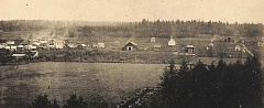 PHOTO COURTESY OF GFU ARCHIVES - The first attempt to plat a town called Newberg came in 1881. Responsible were two enterprising young Quaker couples: William and Sarah Ruddick and David and Maggie Wood. The four purchased five acres from Elijah Hutchens for $125, property which had been part of the J.H. Hess Donation Land Claim.