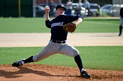 SUBMITTED PHOTO: GREG ARTMAN - Clayton Gelfand pitches for the Wilsonville baseball team in 2013.