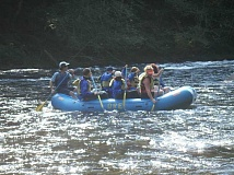 SUBMITTED PHOTO  - Join the fun of rafting the North Santiam with a group from Lake Oswego Parks & Recreation.