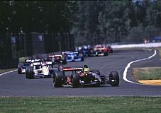 COURTESY PIR/DAN BOYD - Indy car races like this one led by Christian Fittipaldi in 1988 no longer come to Portland International Raceway, which is seeking more community-based activities.