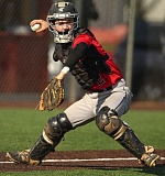 JAIME VALDEZ - Catcher Jordan Weijland has been a leading hitter for the Oregon City Black Sox this summer, with a .448 batting average and 10 runs scored through 11 games.