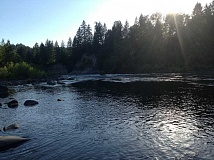 CLACKAMAS COUNTY SHERIFF'S OFFICE - Local safety officials remind those who use the Clackamas River that the water is still very cold and to wear personal flotation devices when near the water.
