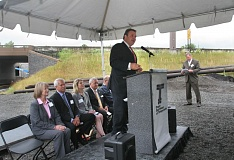 TRIBUNE FILE PHOTO - ODOT Director Matt Garrett, shown at the Sandy River Bridge opening in Troutdale in 2014, says his agency considers whistleblower complaints seriously. A recent lawsuit alleges a worker was fired after sparking an internal audit that substantiated his claims.
