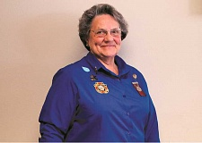 ANGELICA TRUE - Jessie Stober was named the new president of the state VFW Auxiliary at the State VFW Convention at Kah-nee-ta resort in June.
