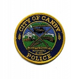 CITY OF CANBY - Canby Police Department badge.