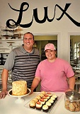 SPOKESMAN PHOTO: VERN UYETAKE - After a six-month move-in process, Brandon and Chanelle Walters of Lux Sucre Desserts married just in time to open the business' doors in Charbonneau.