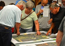 SPOKESMAN PHOTO: JAKE BARTMAN - More than 400 people responded to announcements mailed by the City of Wilsonville and Friends of French Prairie that alerted community members to a June 28 open house soliciting feedback on whether the Rural Reserve designation should be removed from land in Clackamas County.