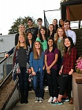 REVIEW FILE PHOTO - The 2015-16 Student Writers Advisory Group poses for a group shot.