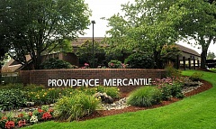 REVIEW PHOTO: VERN UYETAKE - Tenants in the Providence Mercantile complex at Kruse Way and Boones Ferry Road have been notified that the campus is now for sale.