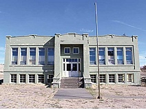 SUBMITTED PHOTO - The Antelope School has been named to the National Register of Historic Places. The school, completed in 1925, has been the city's most prominent building since that time.