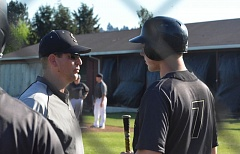 TIMES FILE PHOTO - Former Southridge baseball coach Tim Mooney went 38-30 in three seasons for the Skyhawks.