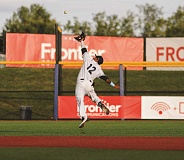 NEWS-TIMES PHOTO: CHASE ALLGOOD - Manny Jefferson was 2-4 Wednesday as the Hops racked up 13 hits.