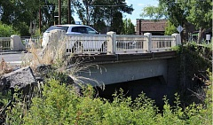JASON CHANEY - Replacement of the Combs Flat Bridge (shown above) is scheduled to start this month.